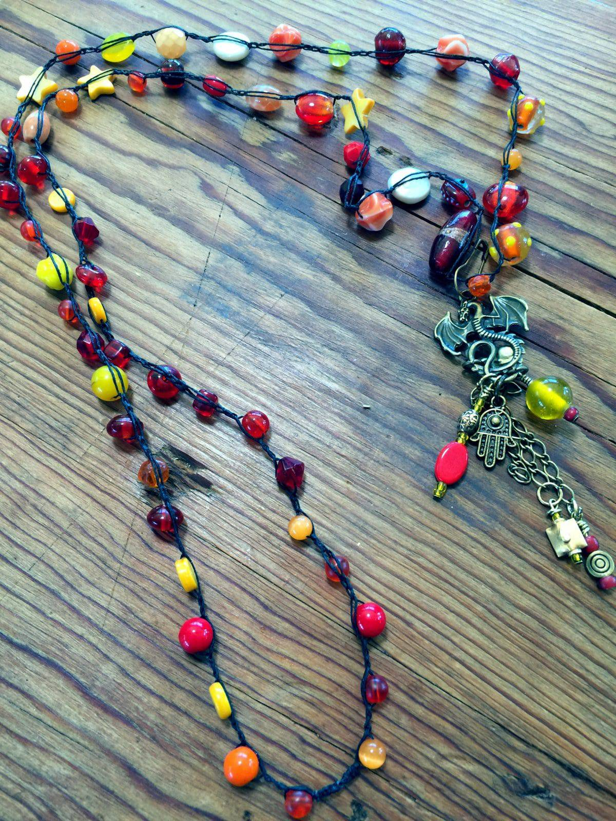 Bead Crochet Necklace Fun To Repeat Mary Ellen Beads