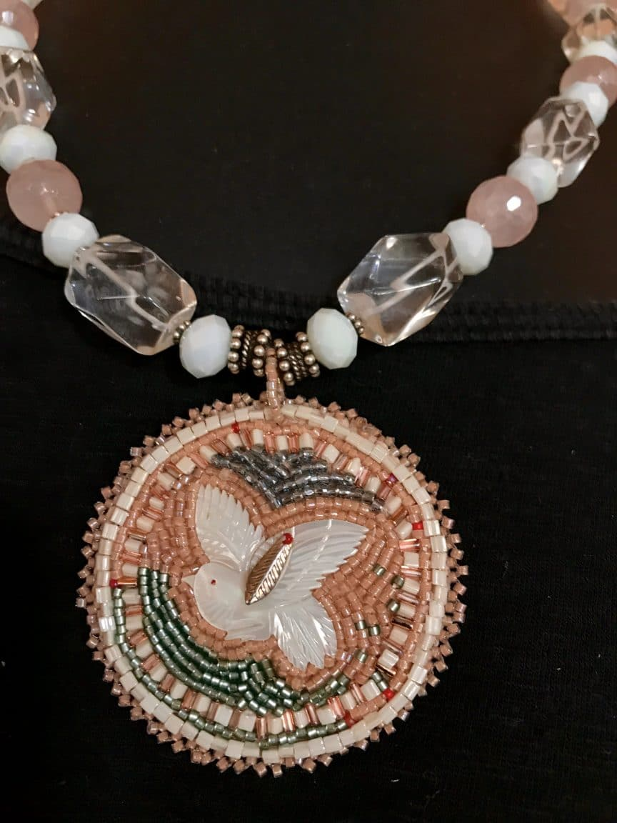In beading as in marketing, a complicated design requires you take the first step to marketing success, according to Mary Ellen Beads Albuquerque.